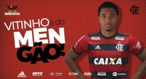 Vitinho-flamengo-300x164 Vitinho é do Flamengo! Rubro-Negro anuncia contratação do atacante