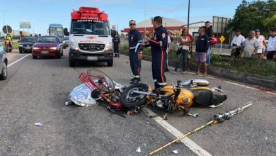 Acidente entre moto e bicicleta deixa ciclista morto na BR-230 7