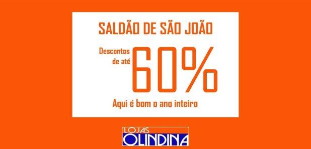 saldao-olindinas-1024x492 Saldão de São João Lojas Olindina com Descontos de até 60 %