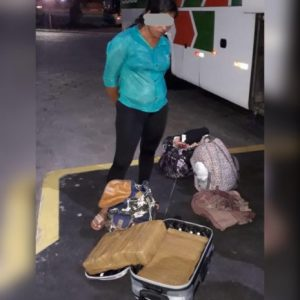 6889617E-7A93-4CDA-948C-093C92BD4398-465x465-300x300 Mulher é presa com 20 kg de drogas no Terminal Rodoviário de João Pessoa quando embarcava para o Rio