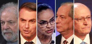 candidatospresidencia-300x146 ELEIÇÕES: Ibope: Lula, 37%; Bolsonaro, 18%; Marina, 6%; Ciro e Alckmin, 5%