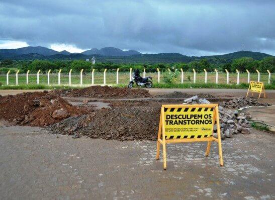 AEROOO Prefeitura de Monteiro investe em pavimentação e mais ações de infraestrutura