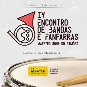 Fanfarra-300x300-1 IV Encontro de Bandas e Fanfarras é adiado devido à programação eleitoral em Monteiro