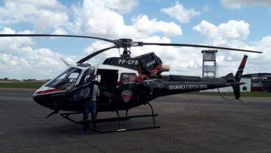 Segundo helicóptero da Segurança Pública chega à Paraíba 1
