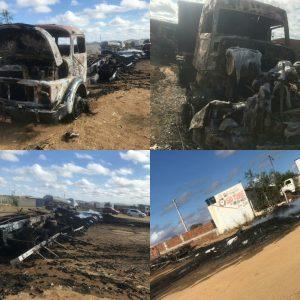 incendio-300x300 Carga de carvão em caminhão pega fogo e destrói Caminhão e Carreta em Monteiro.