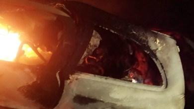 Quatro pessoas morrem carbonizadas em acidente na BR-361, no Sertão da Paraíba 1
