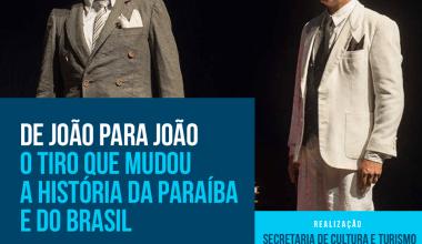 """Hoje  em Monteiro""""De João para João"""" no teatro Jansen Filho 1"""