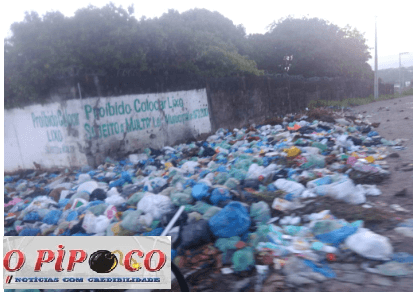Sem coleta de lixo moradores de cidade da Paraíba vivem cenário apocaliptístico 1