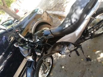 Motocicleta Honda Bros foi tomada de assalto na BR 110 em Monteiro 1