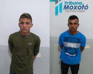 Presos em Monteiro elementos suspeitos de praticarem vários assaltos em Sertânia 1