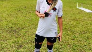 Monteirense Michele Bolt, vai disputar o Campeonato Brasileiro feminino de Futebol pelo Botafogo PB. 4