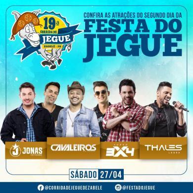 Começam as vendas de camarotes e Área VIP para Festa do Jegue de Zabelê 2019 2