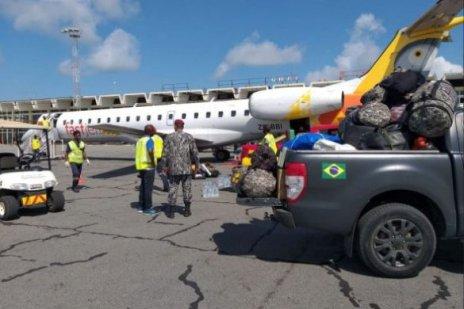 forca_nacional-CICLONE-585x390 Brasileiros participam de buscas após novo ciclone em Moçambique