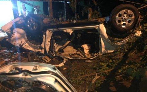 CARRO-623x390 Jovem Sertaniense morre em acidente envolvendo caminhonete conduzida por motorista bêbado