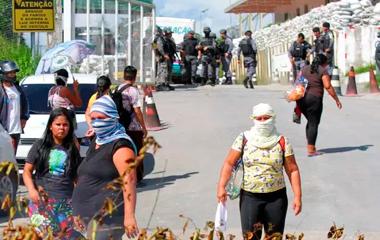 PRESIDIO-MORTES BARBÁRIE EM MANAUS: 42 presos são encontrados mortos em presídios