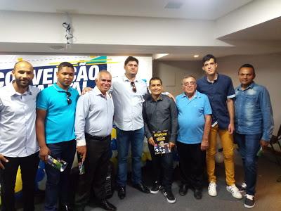 dalyson_zabele Prefeito Dalyson Neves participa da convenção estadual do PSDB