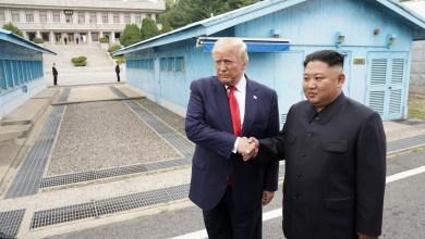 Trump cruza a fronteira e se torna 1º presidente dos EUA a entrar na Coreia do Norte 15