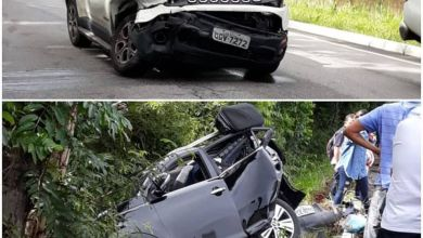Acidente entre veículos deixa mulher morta e dois feridos na Paraíba* 19