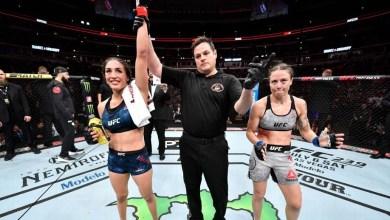 Noiva de Amanda Nunes, Nina Ansaroff  perde em card preliminar no UFC 238 3