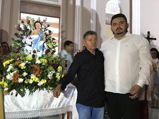 image_6483441 São João do Tigre: Prefeito Celio participa de encerramento da festa de São João Batista