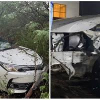 Ex-limão com mel, Batista Lima sofre acidente de carro com esposa