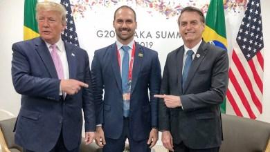 Eduardo Bolsonaro, um aspirante a embaixador abençoado por Trump e por seu pai 19