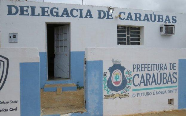 delegacia-de-caraubas-623x390 Posto policial é arrombado e tem ventilador furtado, no Cariri da PB