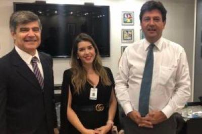 lorena_bsb3 Prefeita de Monteiro cumpre extensa agenda em Brasília e reforça pedido para Centro de Hemodiálise