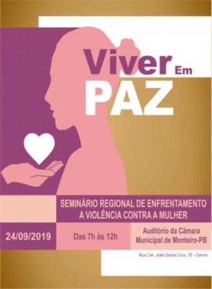 Z-286x390 Monteiro recebe Seminário que aborda o enfrentamento à violência contra a mulher