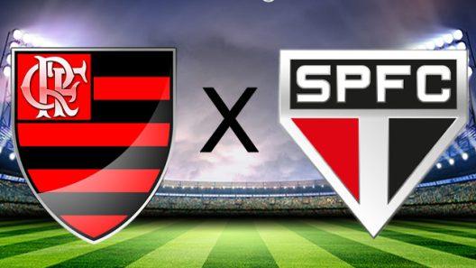 flamengo-xsao-paulo Flamengo faz jogo de 0 a 0 com São Paulo que estreou técnico