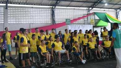 Alunos da Rede Municipal de Monteiro participam do Paraíba Paralímpica 19