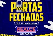 FEIRÃO DE PORTAS FECHADAS Realce Calçados Monteiro 10