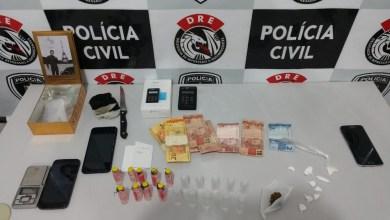 Grupo é preso suspeito de vender drogas em casa de shows na PB 3