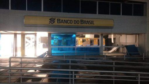Banco-do-Brasil Bandidos explodem bancos em Sertânia-PE e usam armas de grosso calibre