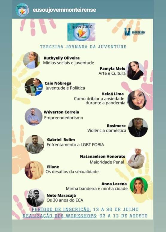 Show-de-Talentos-online2 Prefeitura de Monteiro realiza primeiro Show de Talentos online do município