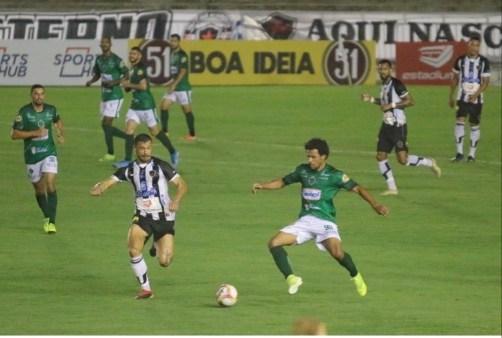 JOGO Botafogo-PB fica no 0 a 0 com o Manaus-AM e segue sem vencer na Série C do Brasileirão