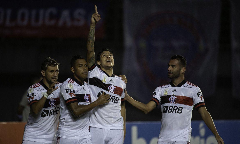 flamengo-1 Flamengo supera Barcelona e desfalques pela covid-19 na Libertadores