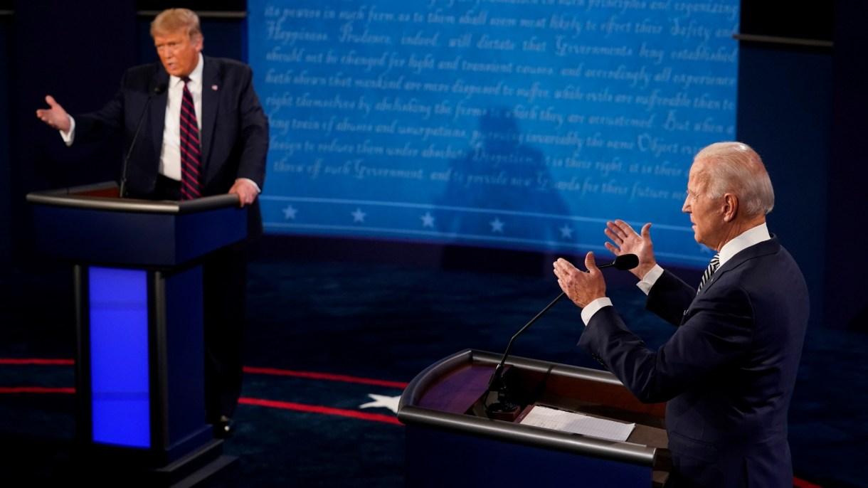 15810_FBB711BC4FB029DC Após debate e Covid-19 de Trump, Biden abre 16 pontos, segundo pesquisa CNN