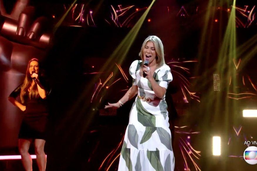 fabiana_souto Paraibana Fabiana Souto anima técnicos mas é eliminada do The Voice Brasil 2020