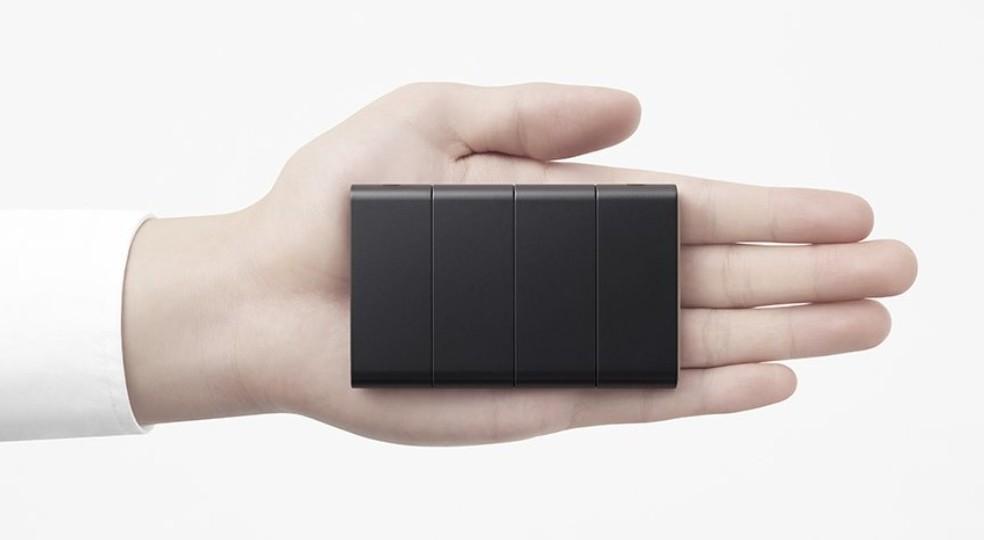 oppo-1 Projeto chinês faz celular dobrar e ficar do tamanho de cartão de crédito