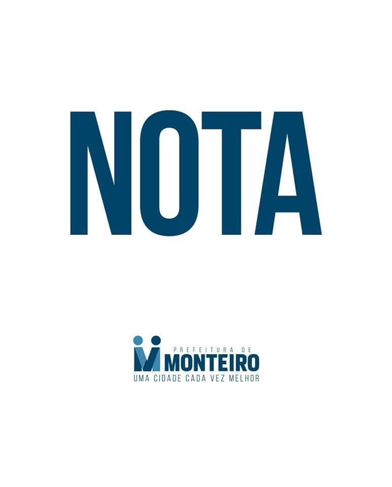 nota Prefeita Anna Lorena emite nota de pesar pelo falecimento do senador José Maranhão