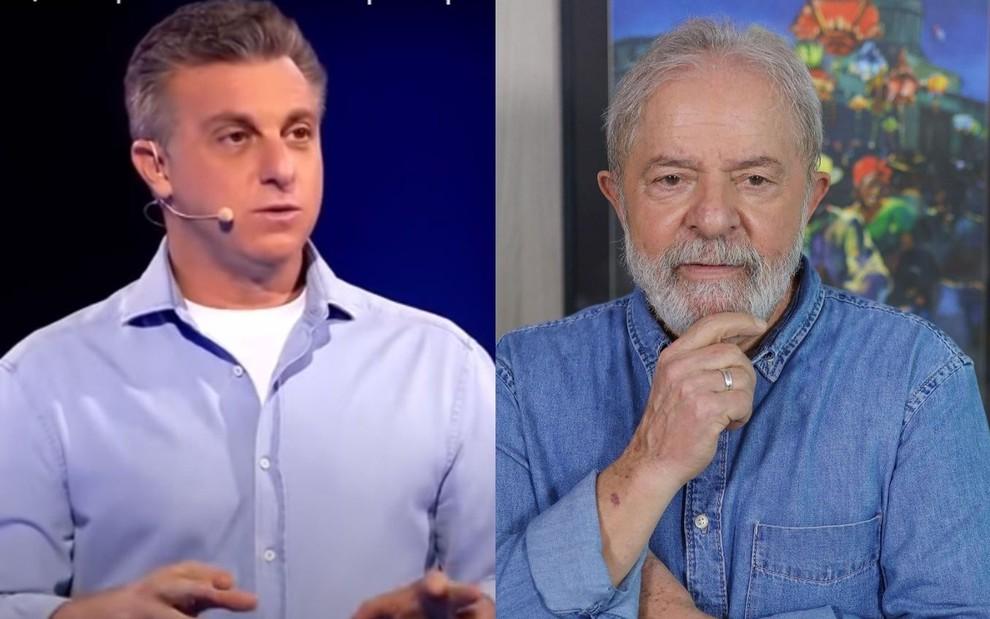luciano-huck-lula-montagem-reproducao-globo-instagram_fixed_large Figurinha repetida não completa álbum, diz Huck sobre Lula em 2022