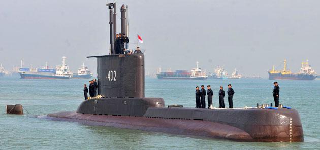 2021-04-21t133351z-683614266-rc2d0n96tvs3-rtrmadp-3-indonesia-submarine Submarino da Indonésia com 53 pessoas a bordo desaparece no mar perto de Bali