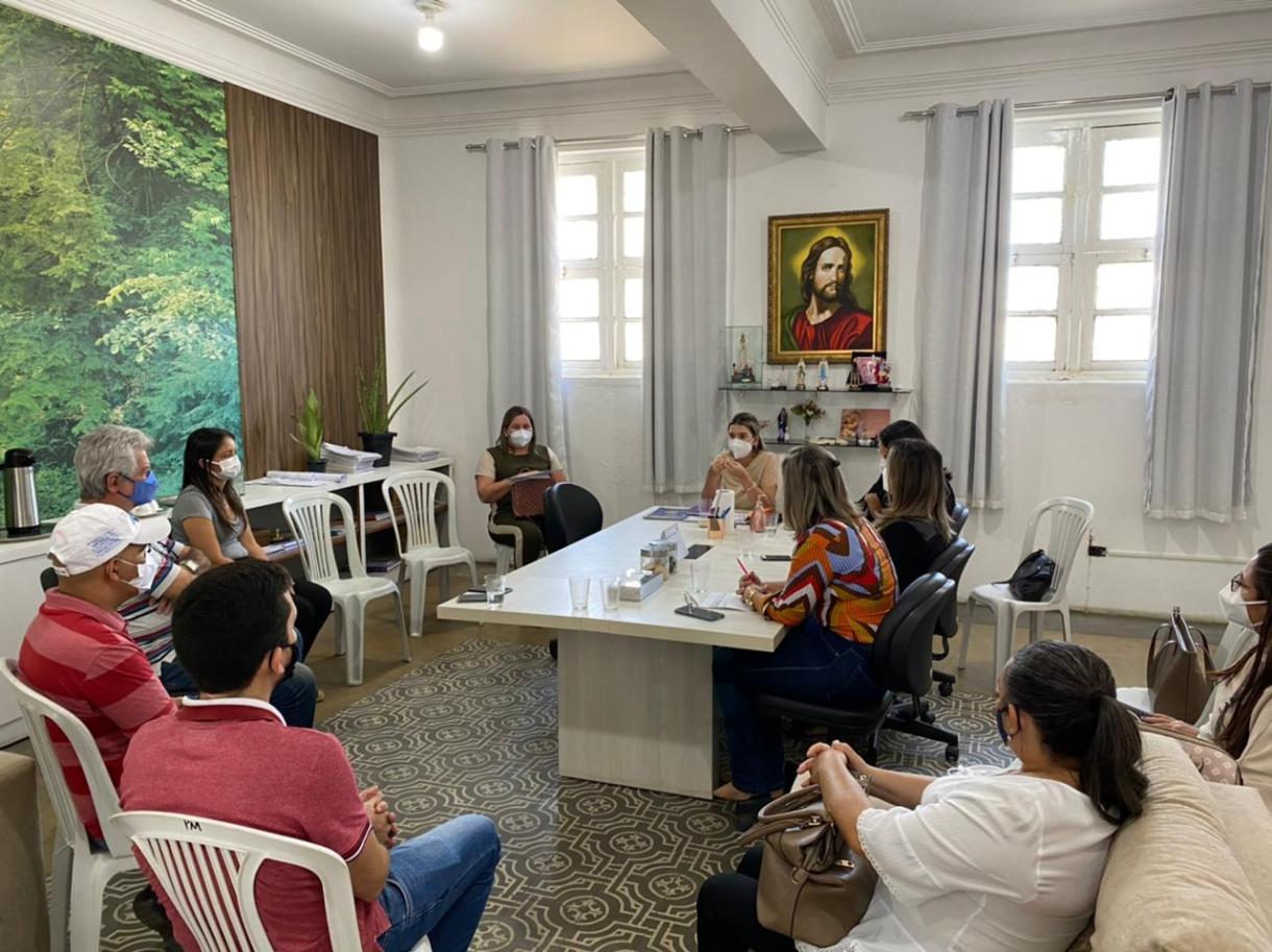 Comite-Gesttor-3 Comitê Gestor de Combate ao Covid-19 do município de Monteiro se reúne para definir novas medidas