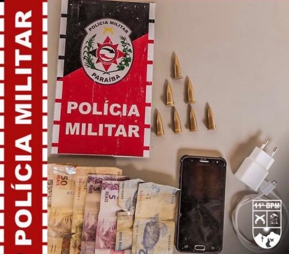 IMG_20210427_224438 Homem com mandado de prisão em aberto é preso com drogas em Monteiro