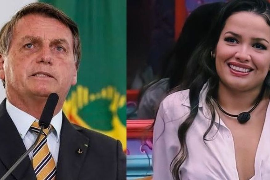 bolsonaro-e-juliette-credito-da-foto-reproducao-instagram Bolsonaro gera polêmica na rede social ao curtir post criticando Juliette