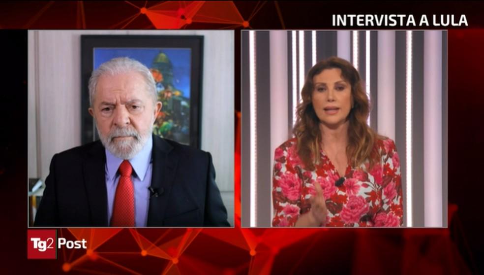 lula-concede-entrevista-ao-canal-tg2-post-nesta-sexta-9-de-abril-de-2021 Em TV da Itália, Lula pede desculpas 'ao povo italiano' por não ter extraditado Cesare Battisti