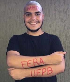 pedrolucas Com raízes monteirenses, jovem de 19 anos passa em 8º lugar para curso de Medicina da UFPB