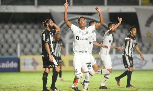 santos_vence_inter_de_limeira_paulistao Santos bate Inter de Limeira e vira líder do Grupo D do Paulistão