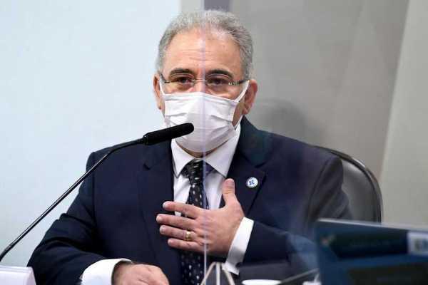 Queiroga1-600x400 Ministro Marcelo Queiroga anuncia chegada de 3 milhões de doses da vacina Janssen